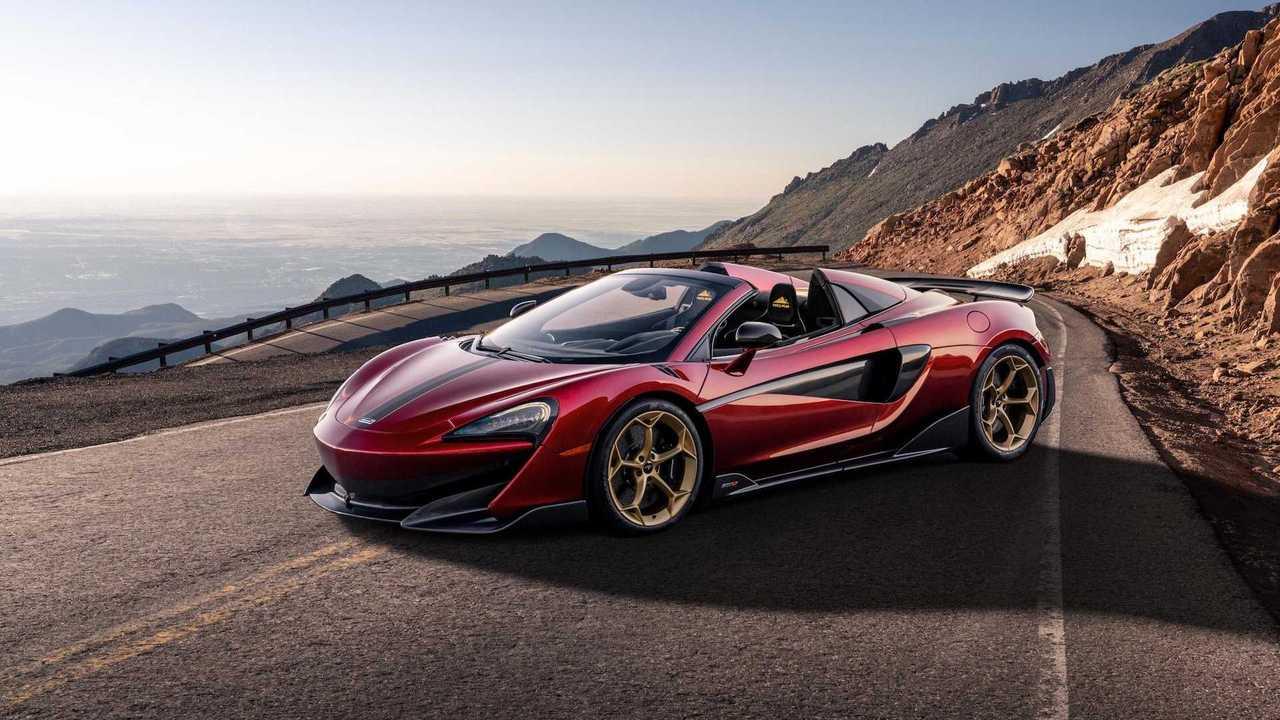 McLaren 600LT Spider Pikes Peak Collection