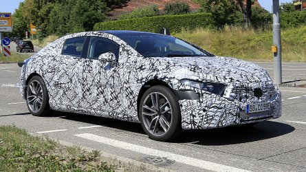 Mercedes EQS Spied As Sleek S-Class Of Electric Cars