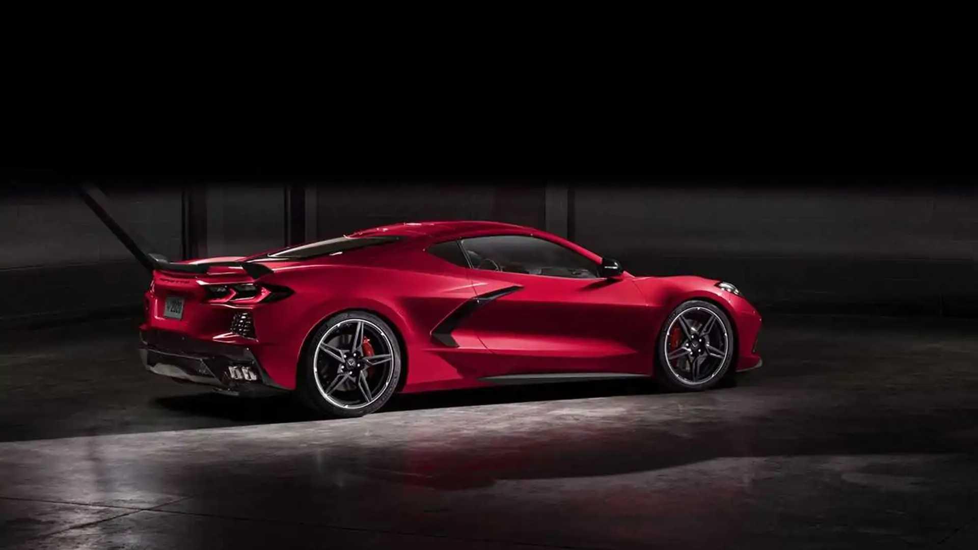2020 Corvette Stingray Fotoğrafları Sızdıran