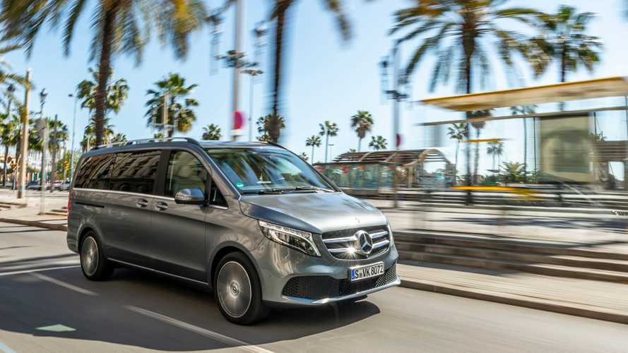 Mercedes-Benz Classe V 2019 Test Drive
