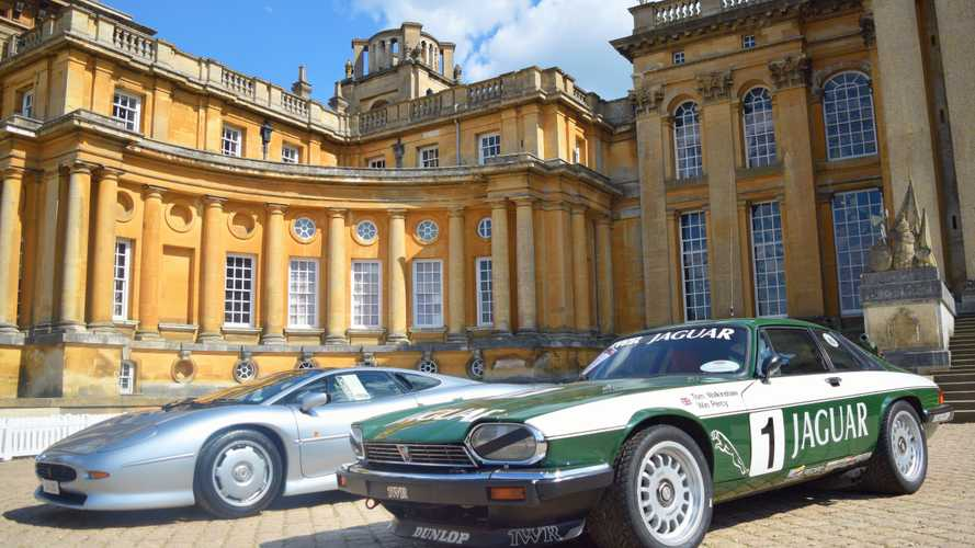 1000 Jaguar Classic Cars Gather At The Poshest House In England