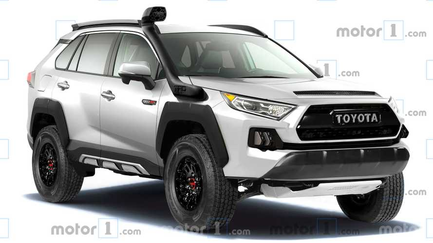 This Is What A Toyota RAV4 TRD Pro Would Look Like