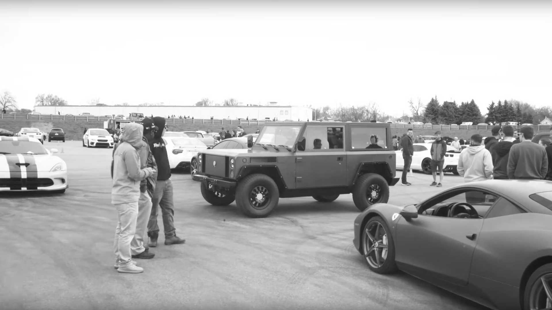 Bollinger B1 Electric Truck Shown Off At Cars & Coffee: Video