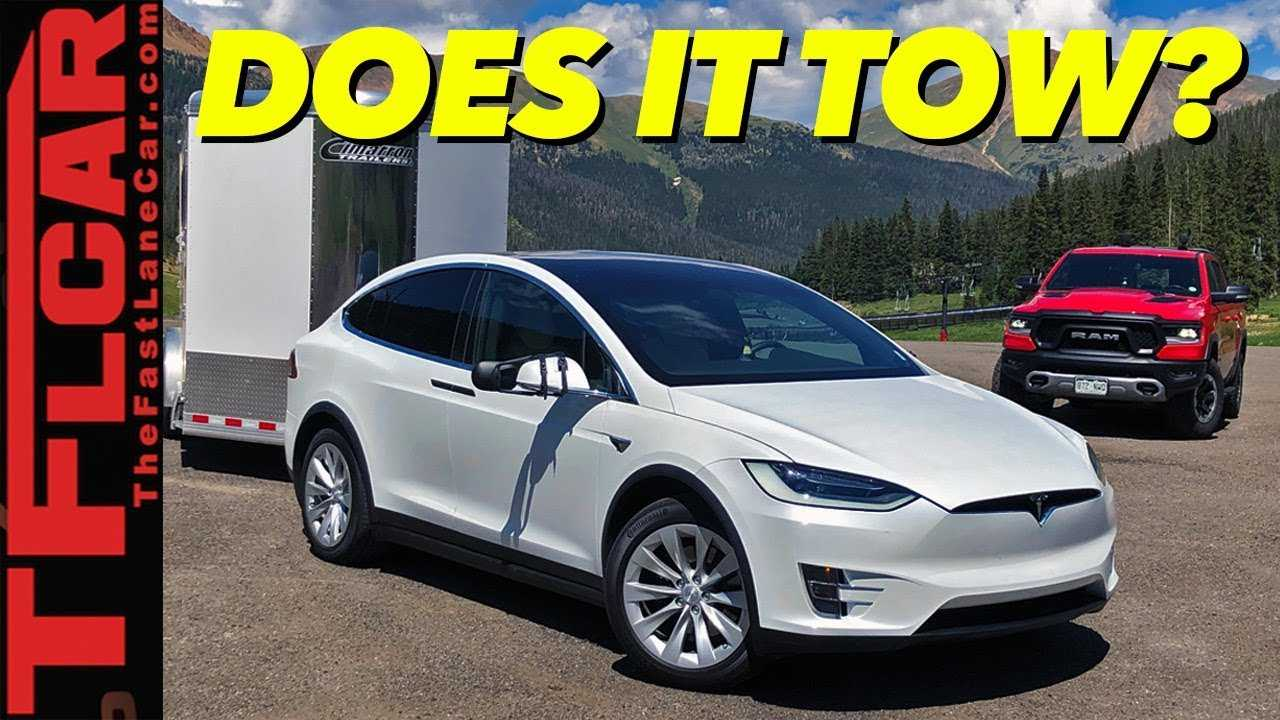 tesla model x prepared to tackle world 39 s toughest towing. Black Bedroom Furniture Sets. Home Design Ideas
