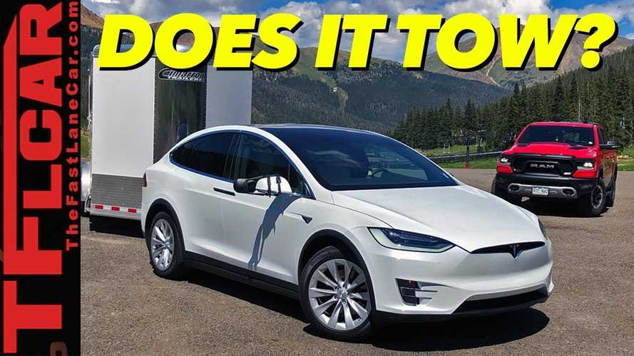 "Tesla Model X Prepared To Tackle ""World's Toughest"" Towing Test"
