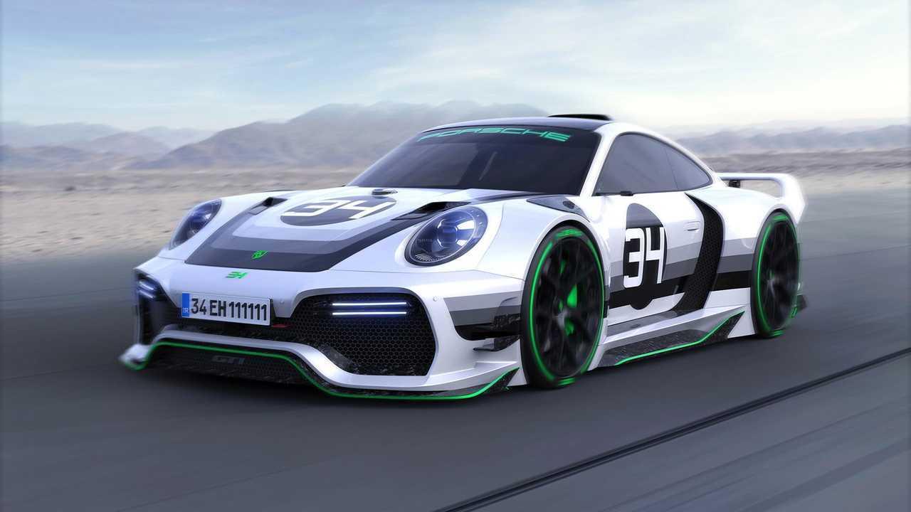 Porsche 911 GT1 Concept render