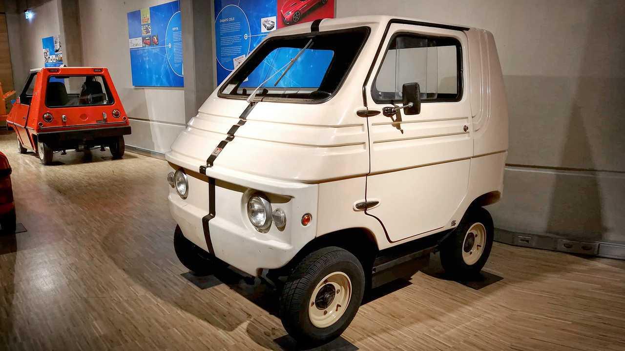 Kleinwagen-Ausstellung in Einbeck: Zagato Zele