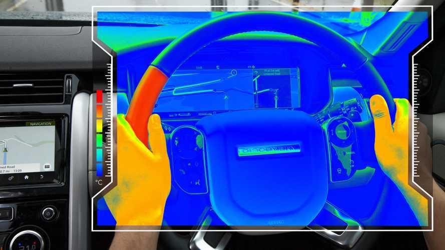 Le volant brûlant de JLR peut mieux vous signaler les dangers
