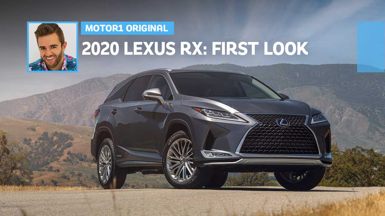 2020 lexus rx and rxl break cover with facelift and improved tech