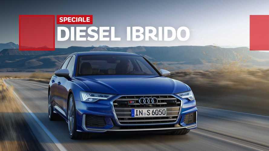 Audi, ecco come vanno S4, S5, S6, S7 e SQ5 col diesel mild hybrid