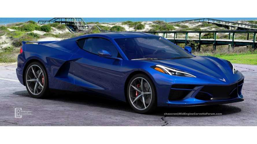 More Mid-Engine Corvette Renderings To Whet Your Appetite