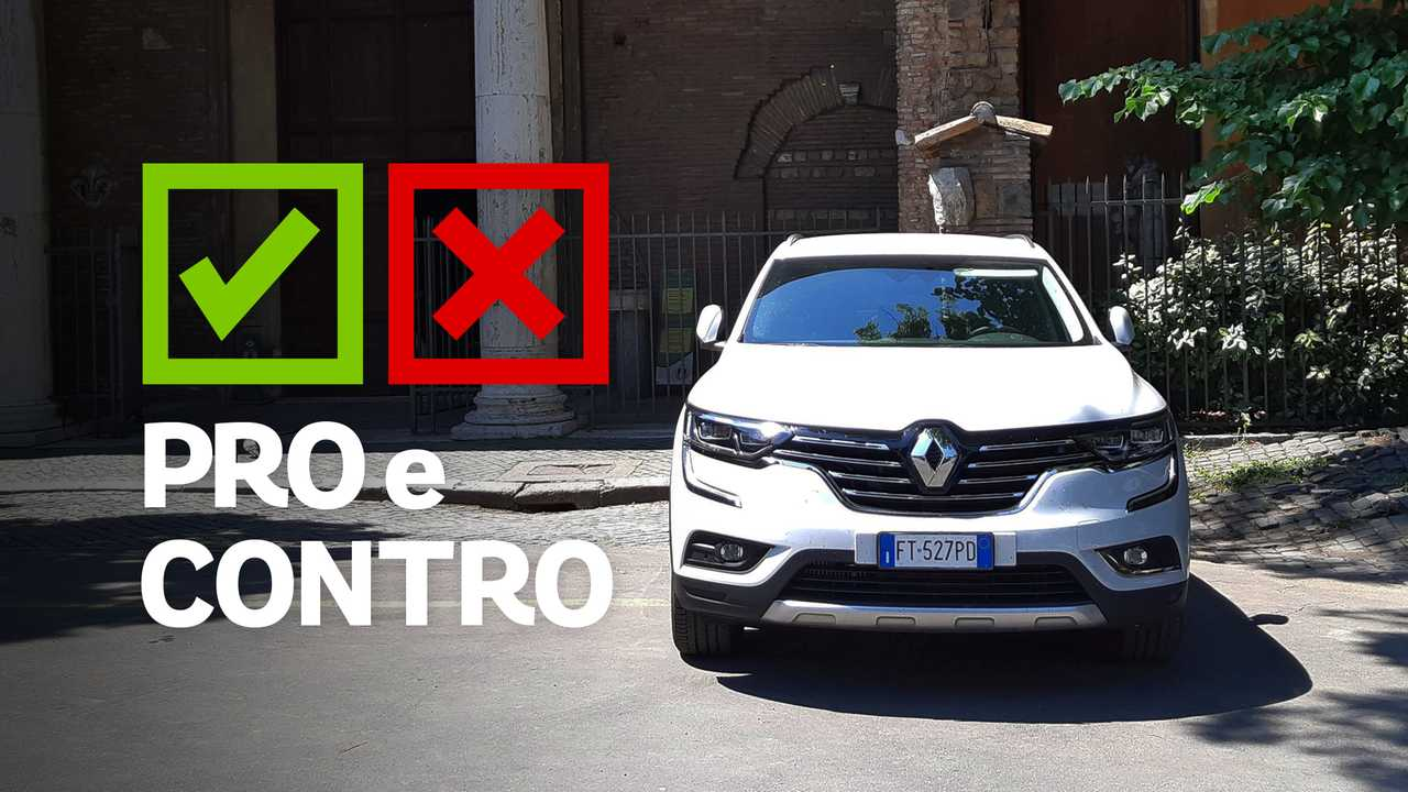 Renault Koleos Executive Energy DCI 175CV X-Tronic x4, Pro e Contro