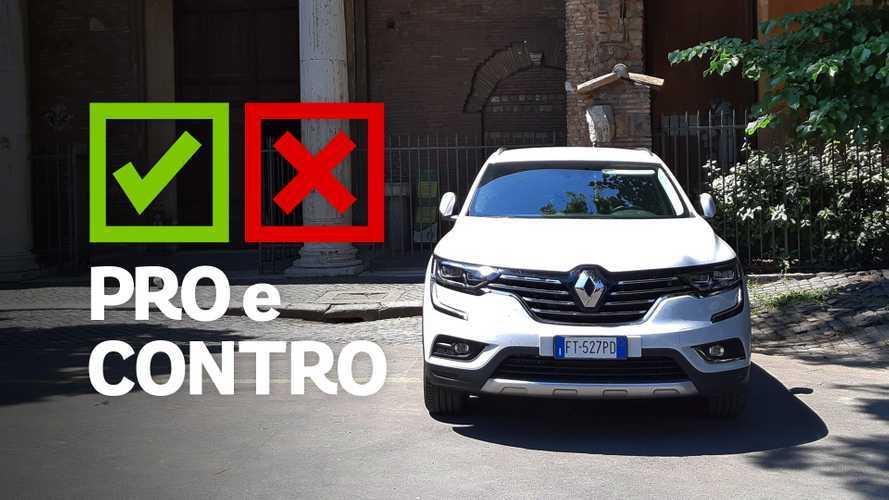 Renault Koleos Executive Energy DCI 175CV X-Tronic 4x4, pro e contro