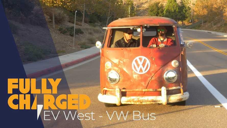 Fully Charged Test Drives EV West VW Bus: Video