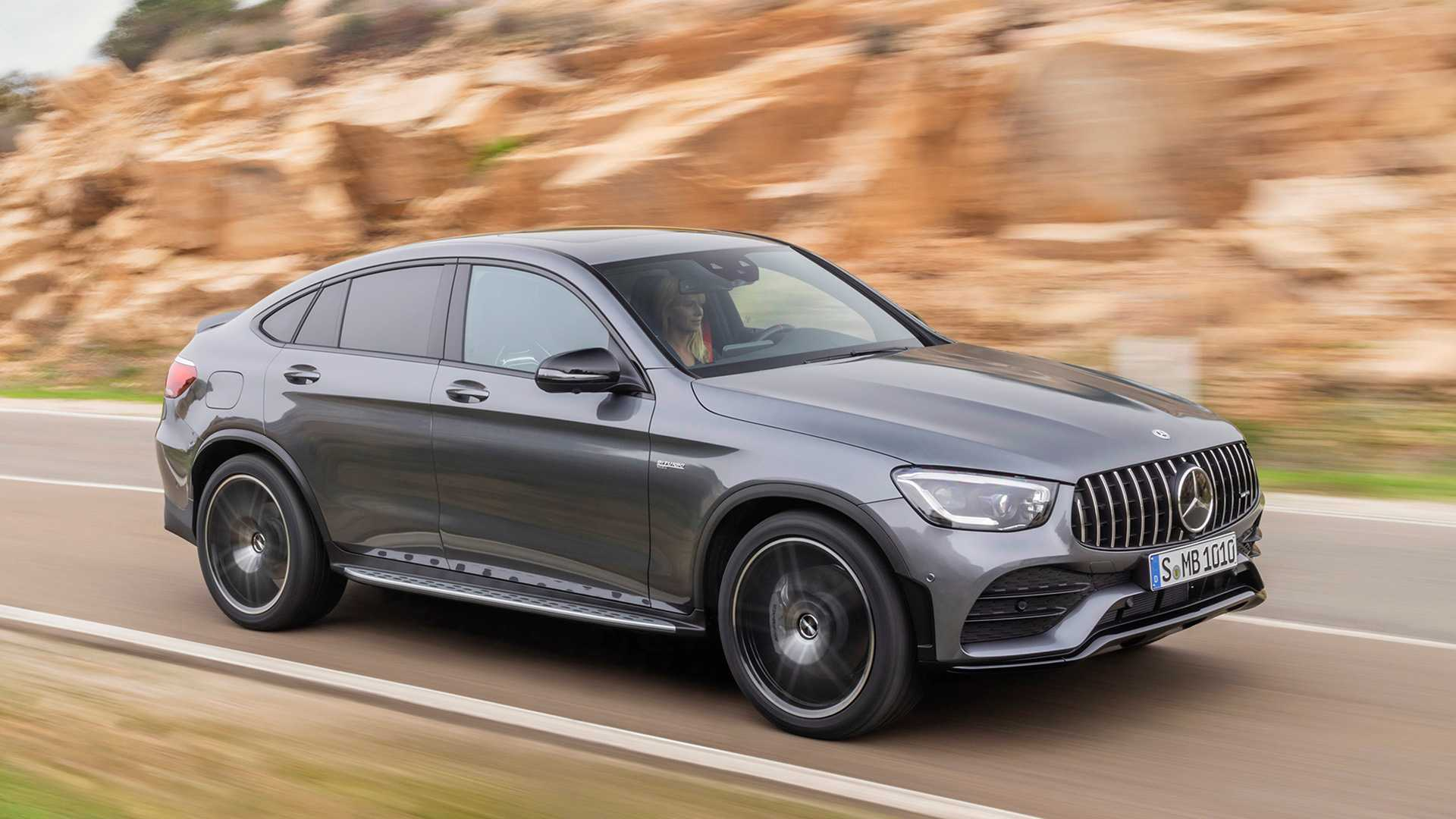 Glc 43 Amg >> 2020 Mercedes Amg Glc 43 Debuts With Updated Styling 385 Hp