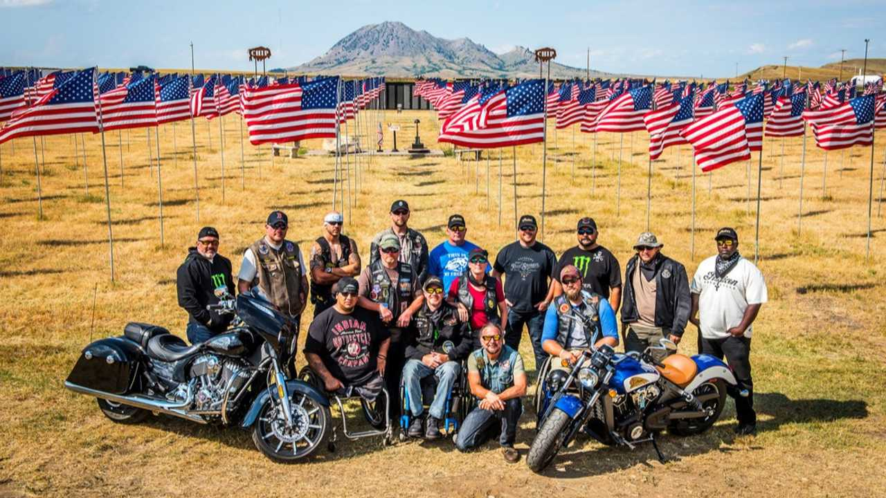 Veterans Charity Ride Indian Motorcycles