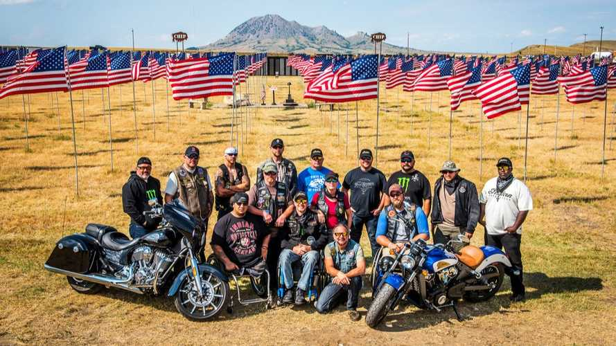 Indian Motorcycles Supports Veterans' Therapy Ride To Sturgis