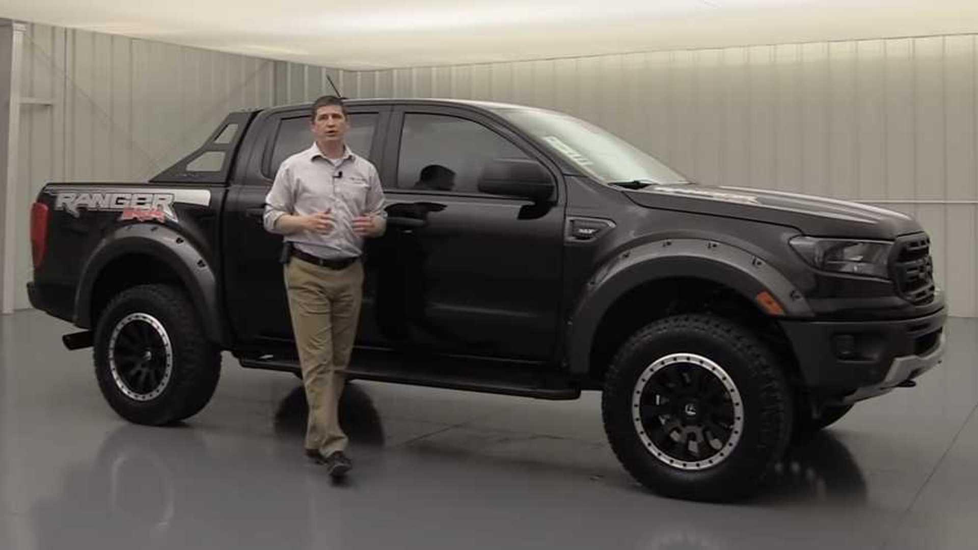 Kansas Dealer Selling Ford Ranger Raptor Inspired Baja Package