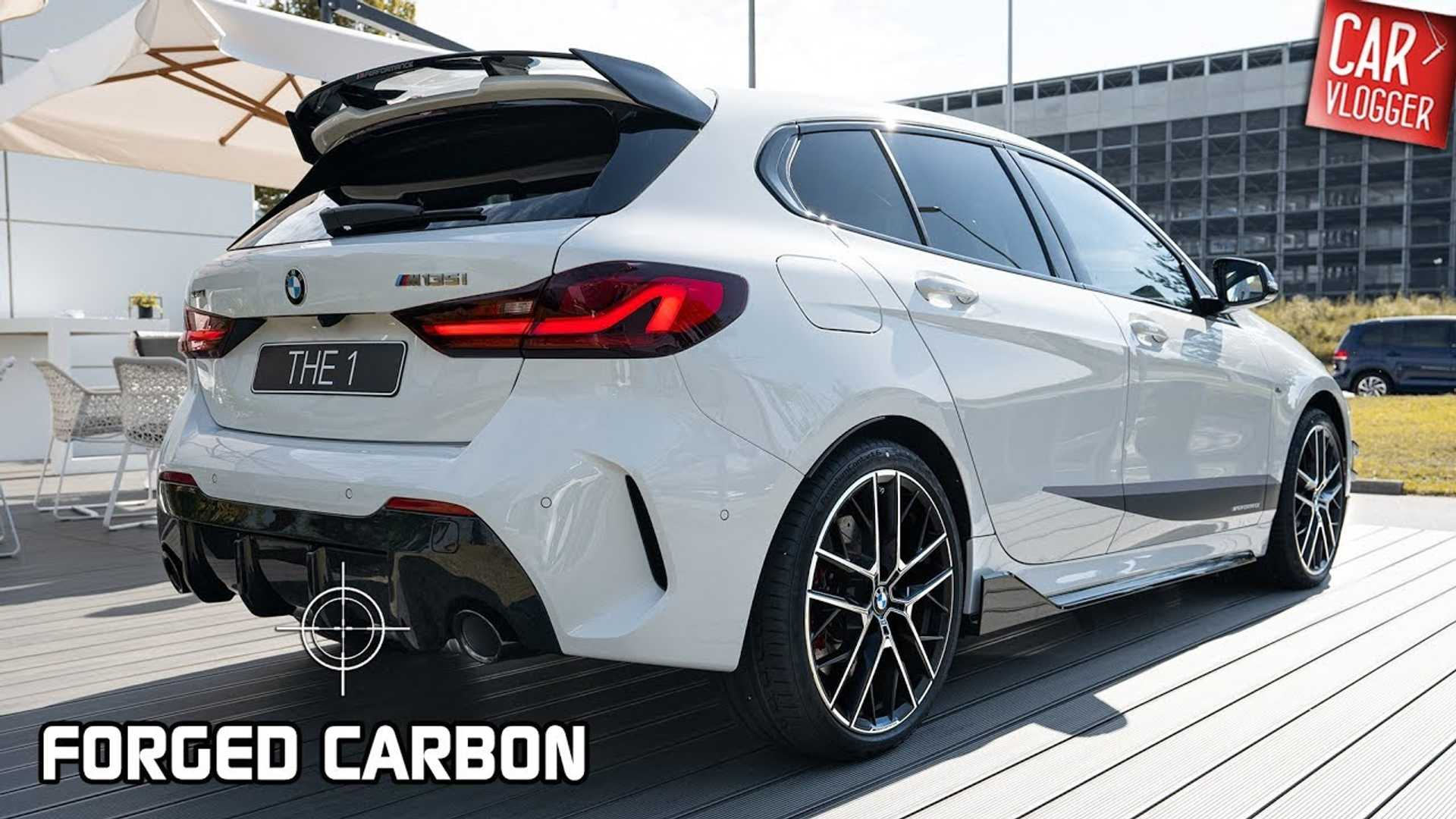 BMW M135i Models Its New M Performance Parts On Video