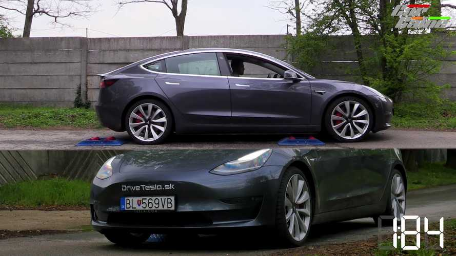 Tesla Model 3 Performance Traction Control Tested: Video