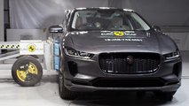 Jaguar I-Pace, il crash test Euro NCAP
