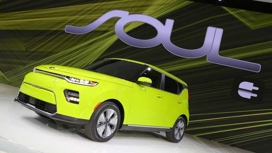 New Soul EV revealed in Los Angeles