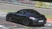 2013 Porsche Cayman spy photo - 5.7.2011
