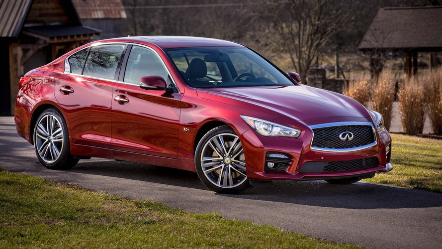Infiniti Q50 steer-by-wire glitch prompts global recall
