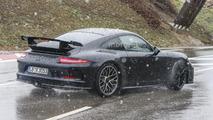 Porsche 911 GT3 spy photo