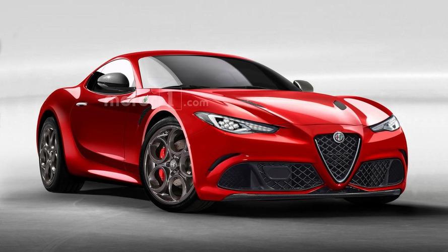Alfa Romeo 6C rendering