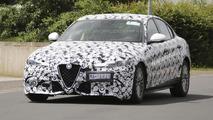 Alfa Romeo Giulia spy photo