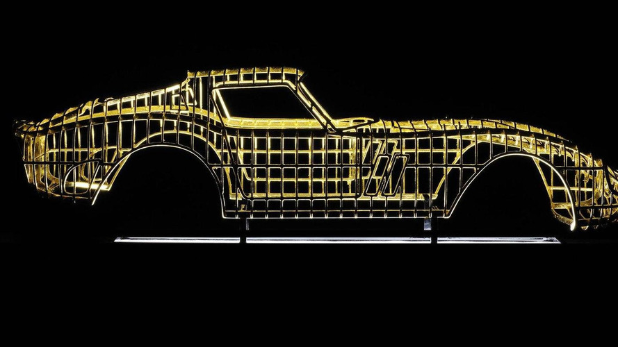 24-karat Ferrari 250 GTO to be unveiled at Pebble Beach Concours d'Elegance 2011