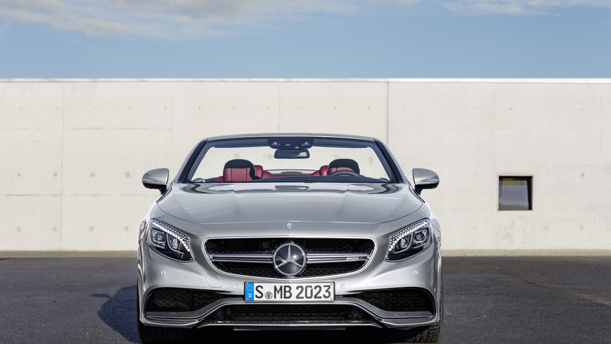 Mercedes-AMG S63 Cabrio Edition 130 celebrates invention of automobile