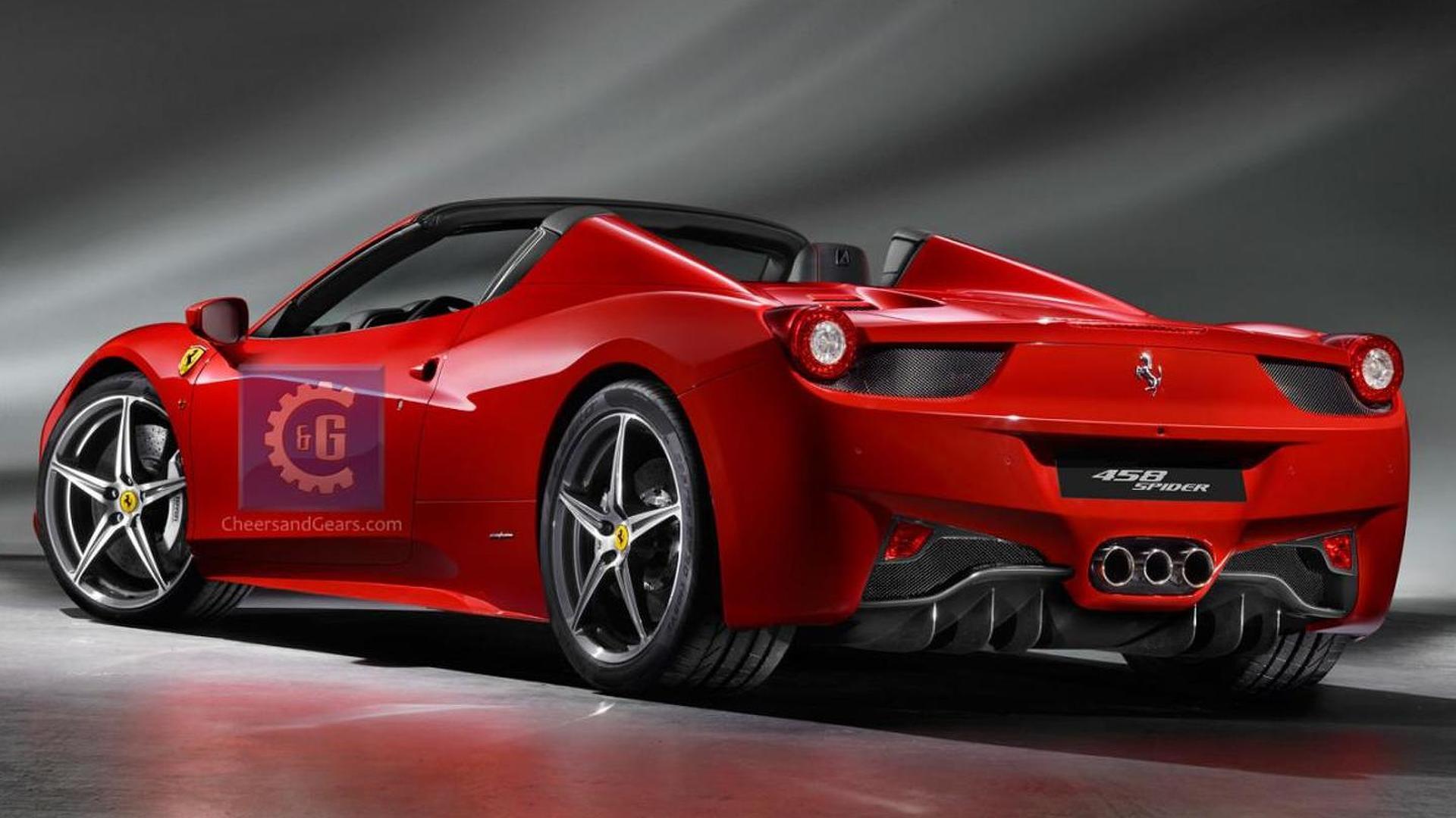 Ferrari 458 Spider Leaked