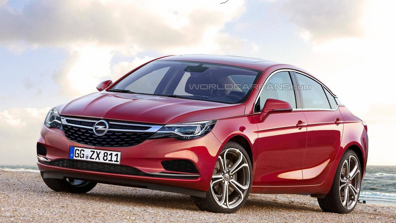 2017 Opel Insignia render