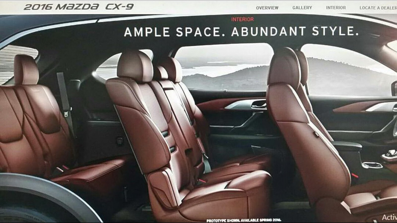 Miraculous 2017 Mazda Cx 9 Motor1 Com Photos Creativecarmelina Interior Chair Design Creativecarmelinacom