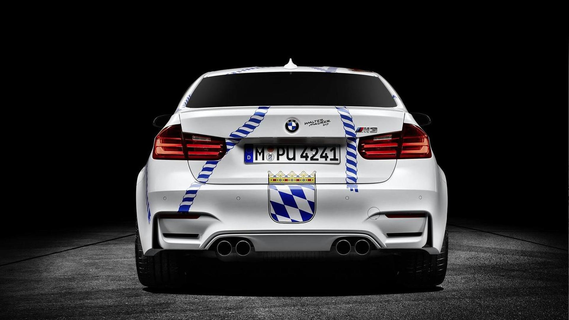BMW celebrates 2015 Oktoberfest with one-off M3 Münchner ...