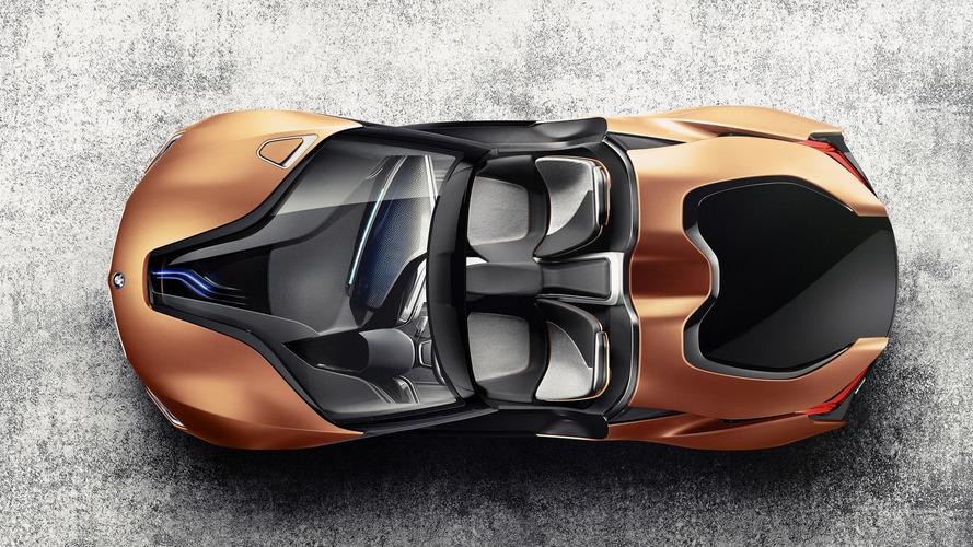 BMW i8 Spyder premier rendu