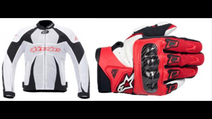 Alpinestars 2012: T-GP Plus Air e SMX-2 Air Carbon