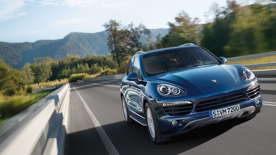 Diesel-powered Porsche models for the U.S.?
