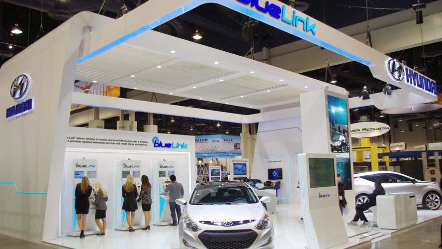 Hyundai debuts Blue Link telematics platform at 2011 CES 05.01.2011