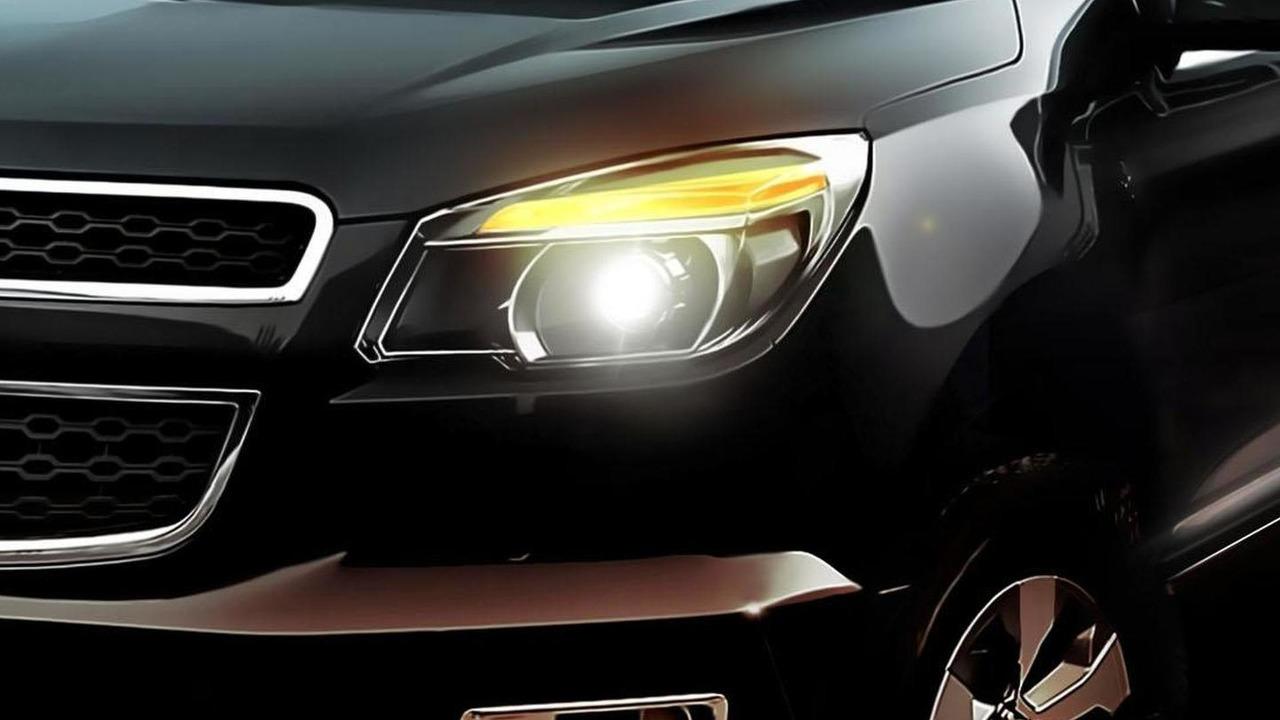 Chevrolet Colorado concept teaser - 8.3.2011