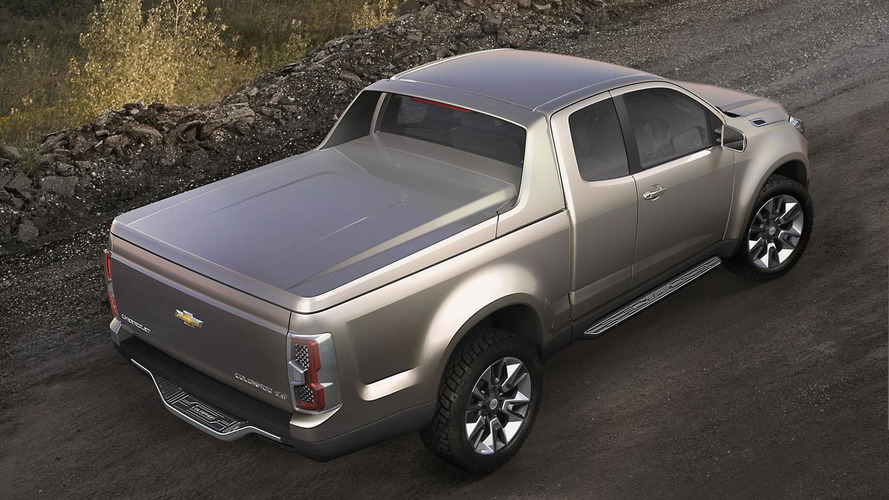 Chevrolet Colorado concept unveiled