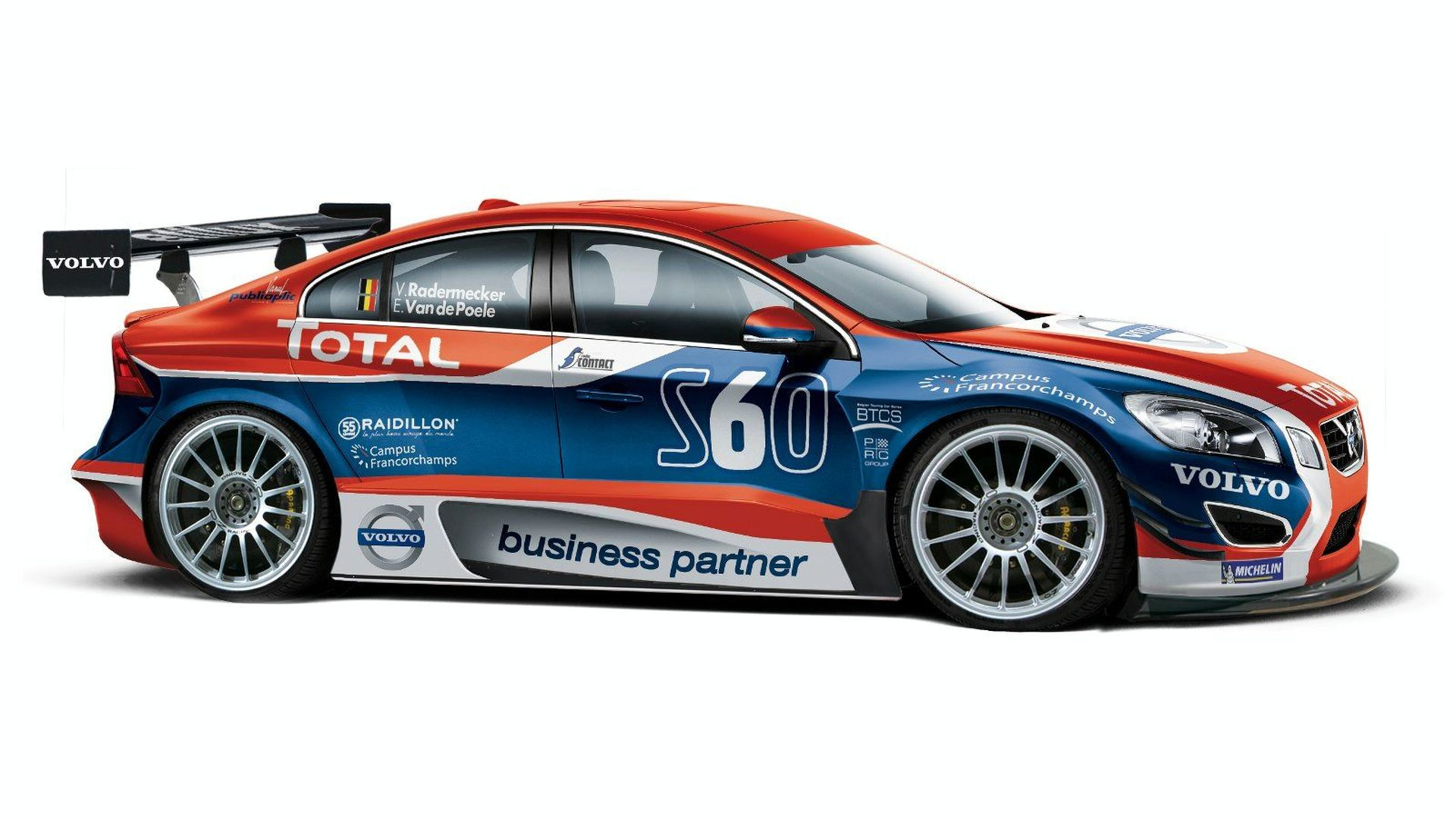 49f444f94e Volvo Preparing All-New S60 for Belgian Touring Car Series