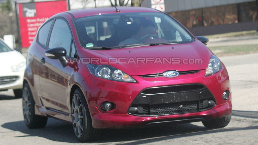 2011 Ford Fiesta ST Turbo Spied in Dearborn