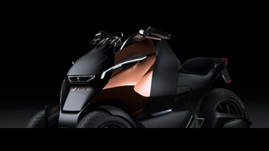 Peugeot supertrike Onyx Concept Scooter