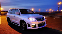 Lexus LX570 with Wald Sports Line Black Bison Edition styling package 22.04.2011