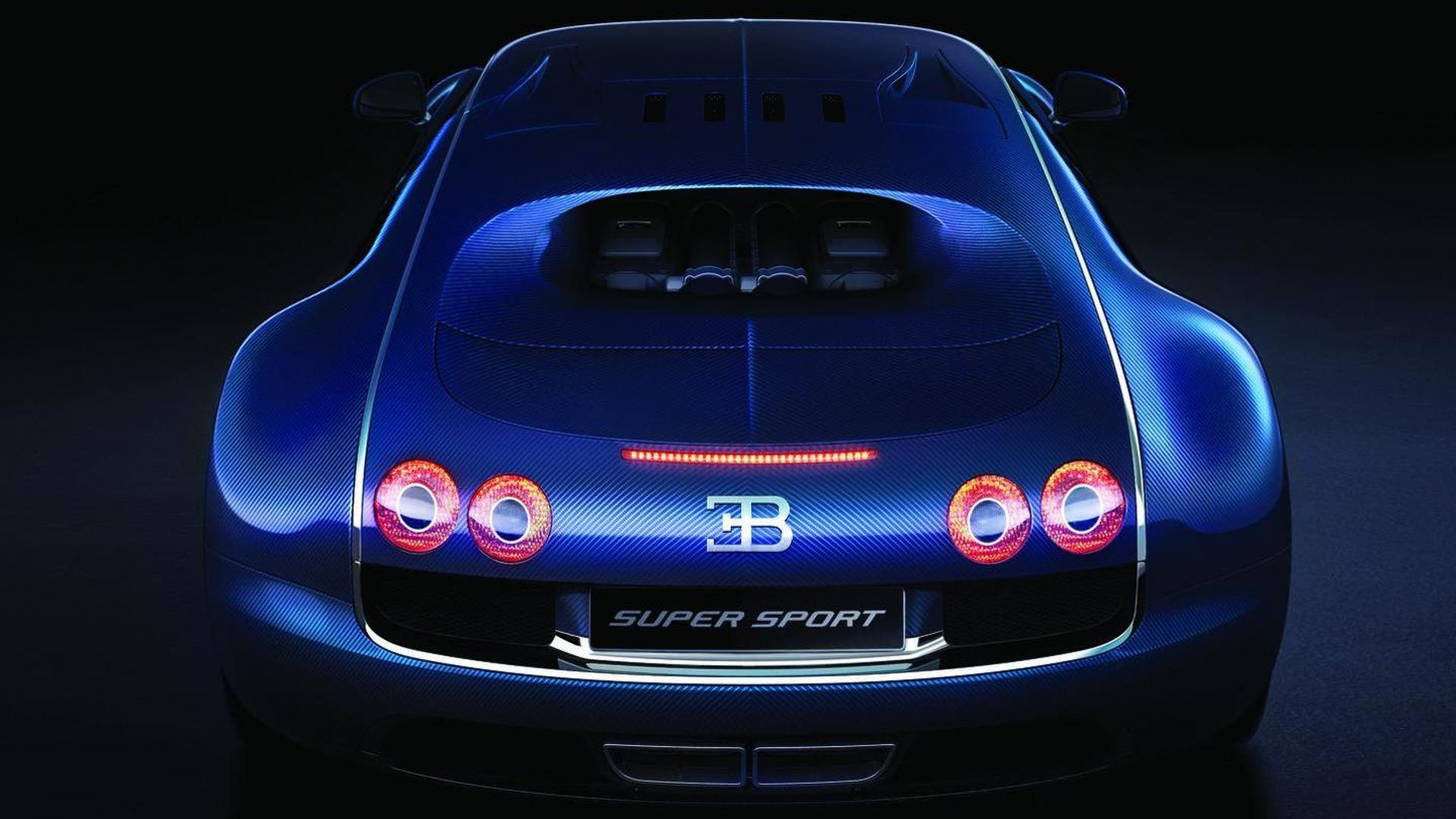 Bugatti Veyron Super Sport World Record Edition Limited To 10 Mph