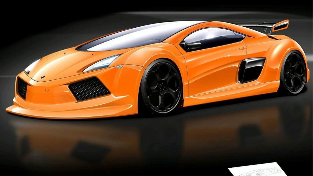 Lamborghini Concept artist rendering