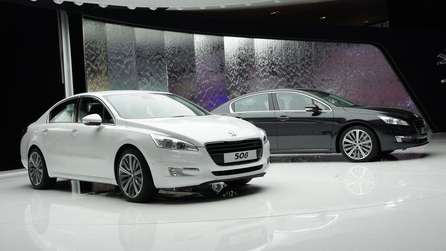 Peugeot 508 makes Paris debut